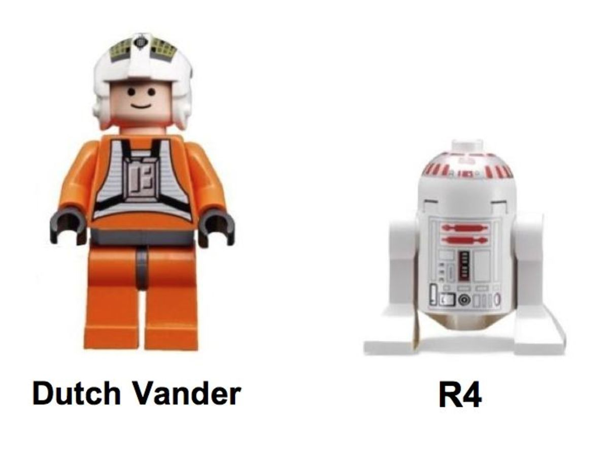 LEGO Star Wars Y-Wing Fighter 7658 Minifigures