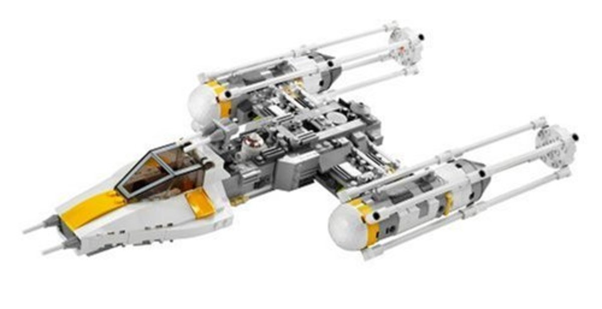 LEGO Star Wars Y-Wing Fighter 7658 Assembled