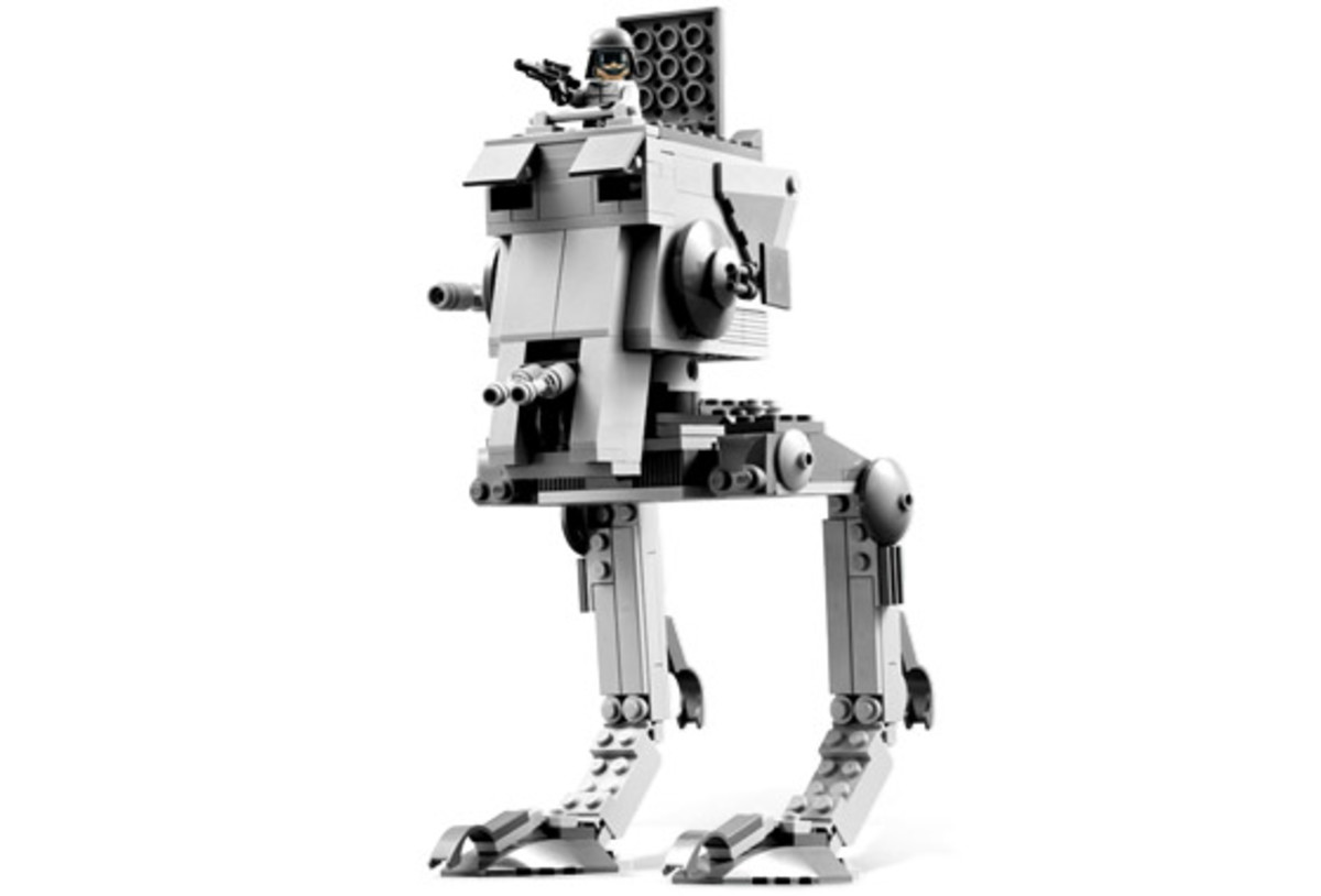 LEGO Star Wars AT-ST 7657 Assembled
