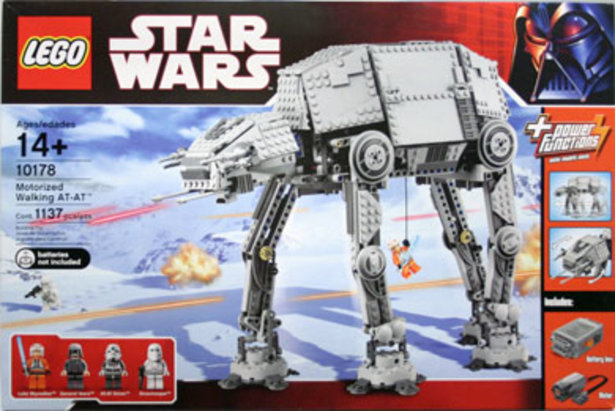 LEGO Star Wars AT-AT Motorized Walker 10178 Box