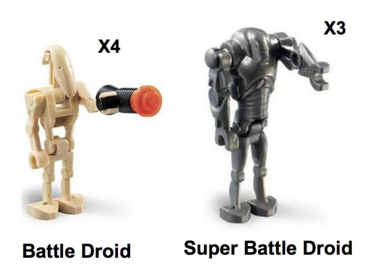 LEGO Star Wars Droids Battle Pack 7654 Minifigures