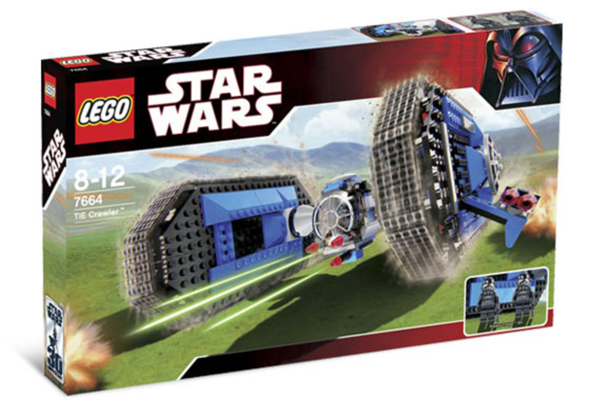LEGO Star Wars TIE Crawler 7664 Box