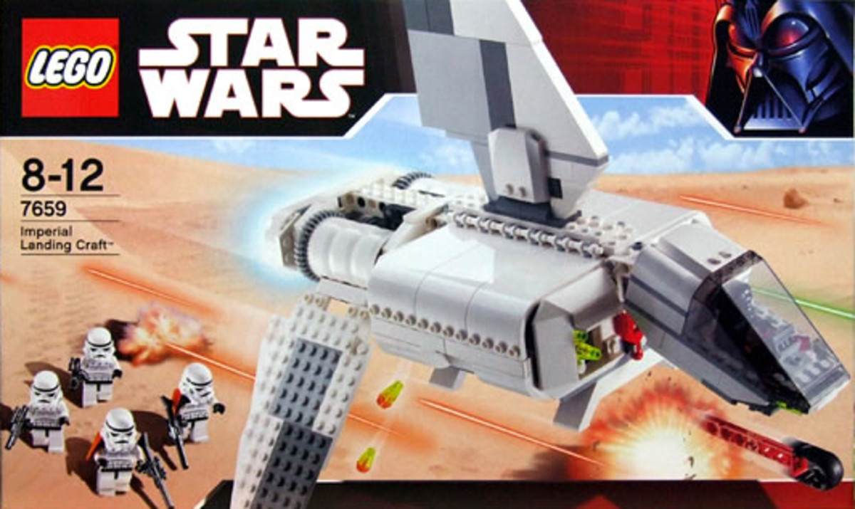 LEGO Star Wars Imperial Landing Craft 7659 Box