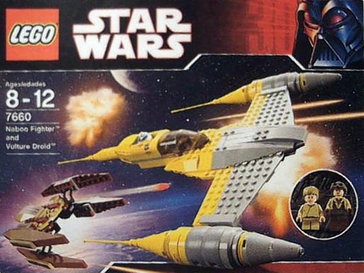 LEGO Star Wars Naboo N-1 Starfighter & Vulture Droid 7660 Box