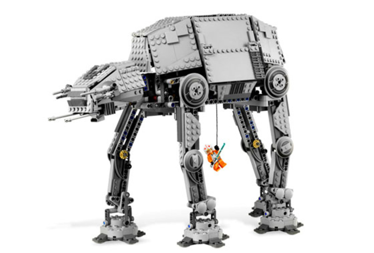 LEGO Star Wars AT-AT Motorized Walker 10178 Assembled