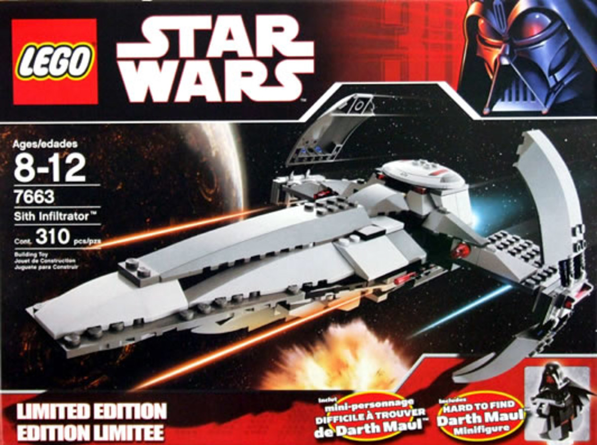 LEGO Star Wars Sith Infiltrator 7663 Box