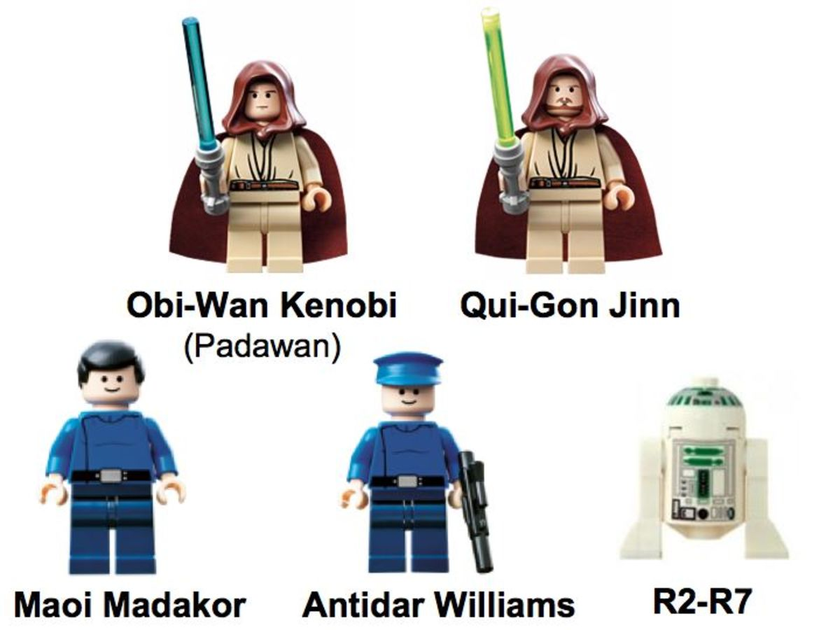 LEGO Star Wars Republic Cruiser 7665 Minifigures