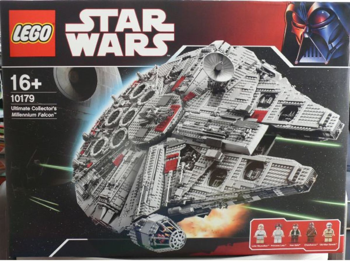 LEGO Star Wars Millennium Falcon 10179 Box