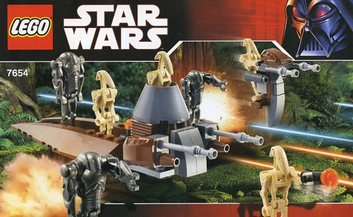 LEGO Star Wars Droids Battle Pack 7654 Box