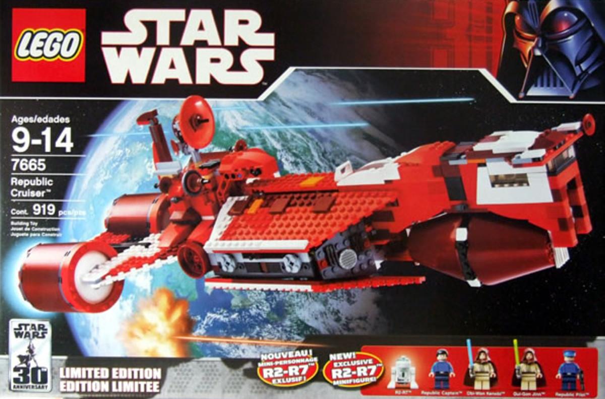 LEGO Star Wars Republic Cruiser 7665 Box