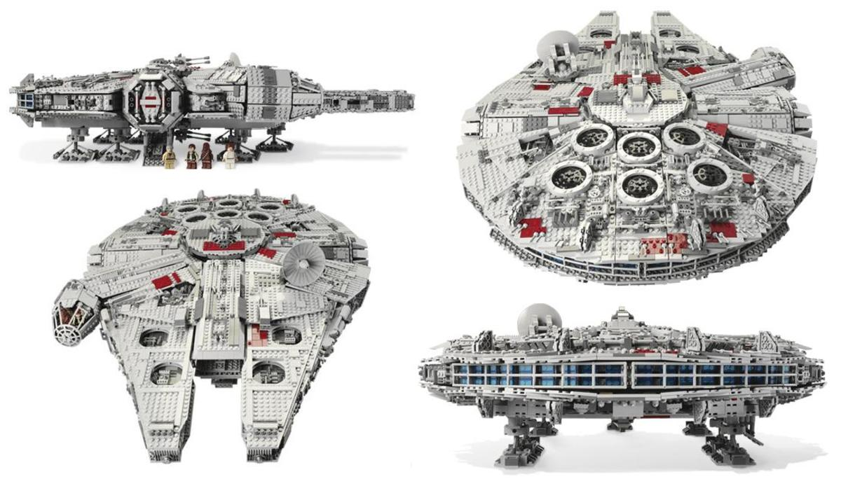 LEGO Star Wars Millennium Falcon 10179 Assembled