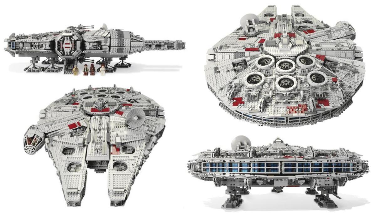 LEGO Star Wars Millennium Falcon 10179 Assembled