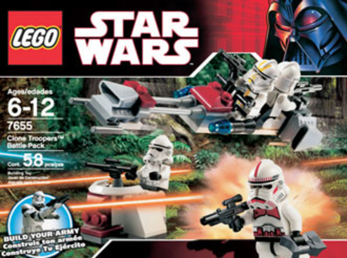 LEGO Star Wars Clone Trooper Battle Pack 7655 Box