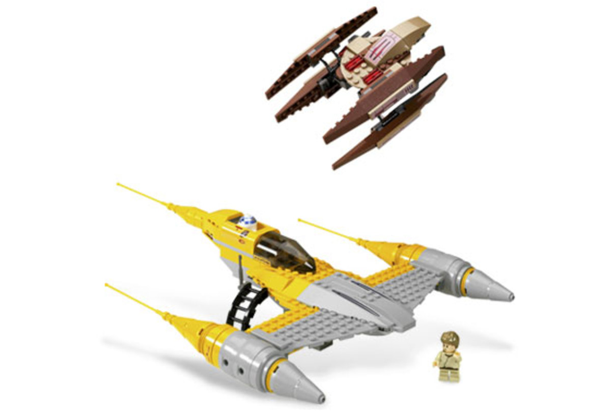 LEGO Star Wars Naboo N-1 Starfighter & Vulture Droid 7660 Assembled