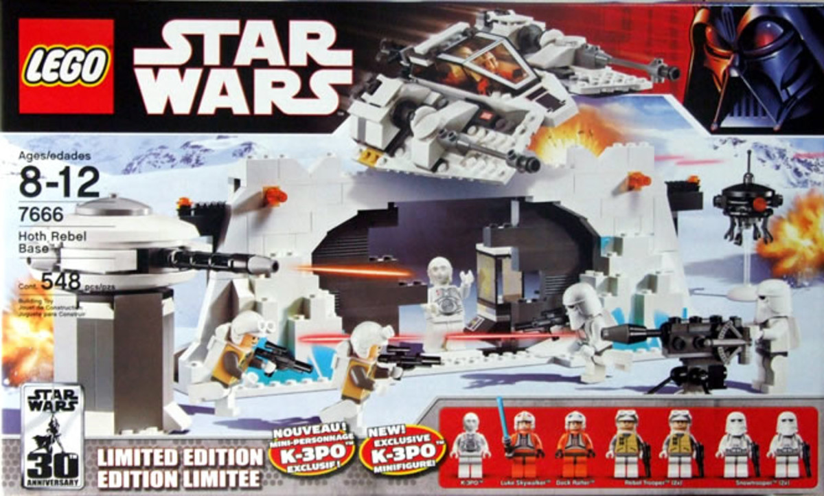 LEGO Star Wars Hoth Rebel Base 7666 Box