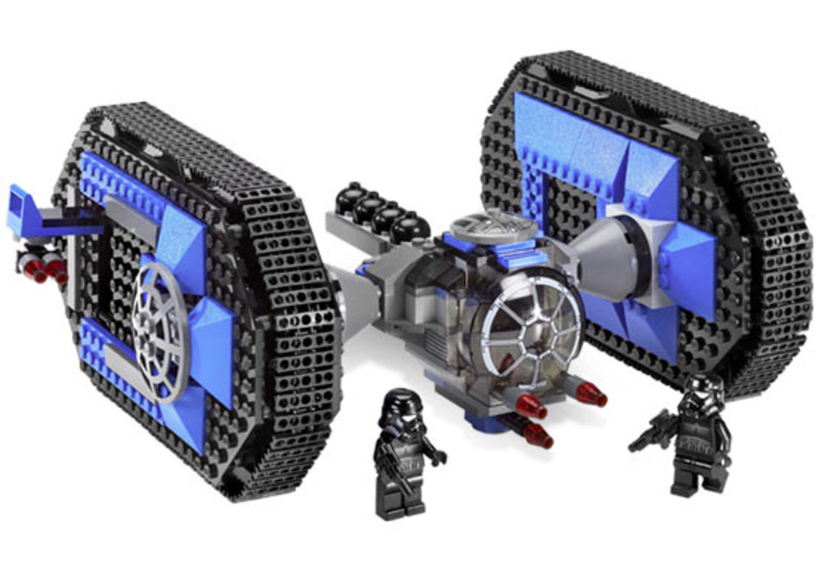 LEGO Star Wars TIE Crawler 7664 Assembled