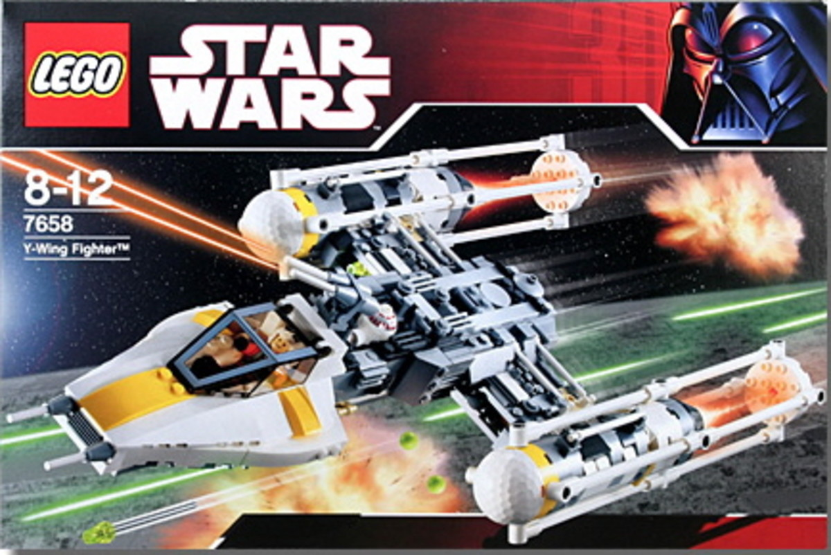 LEGO Star Wars Y-Wing Fighter 7658 Box