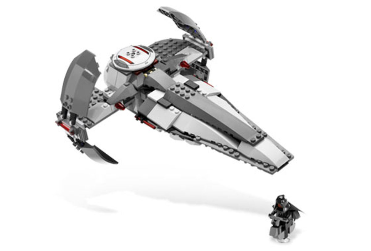 LEGO Star Wars Sith Infiltrator 7663 Assembled