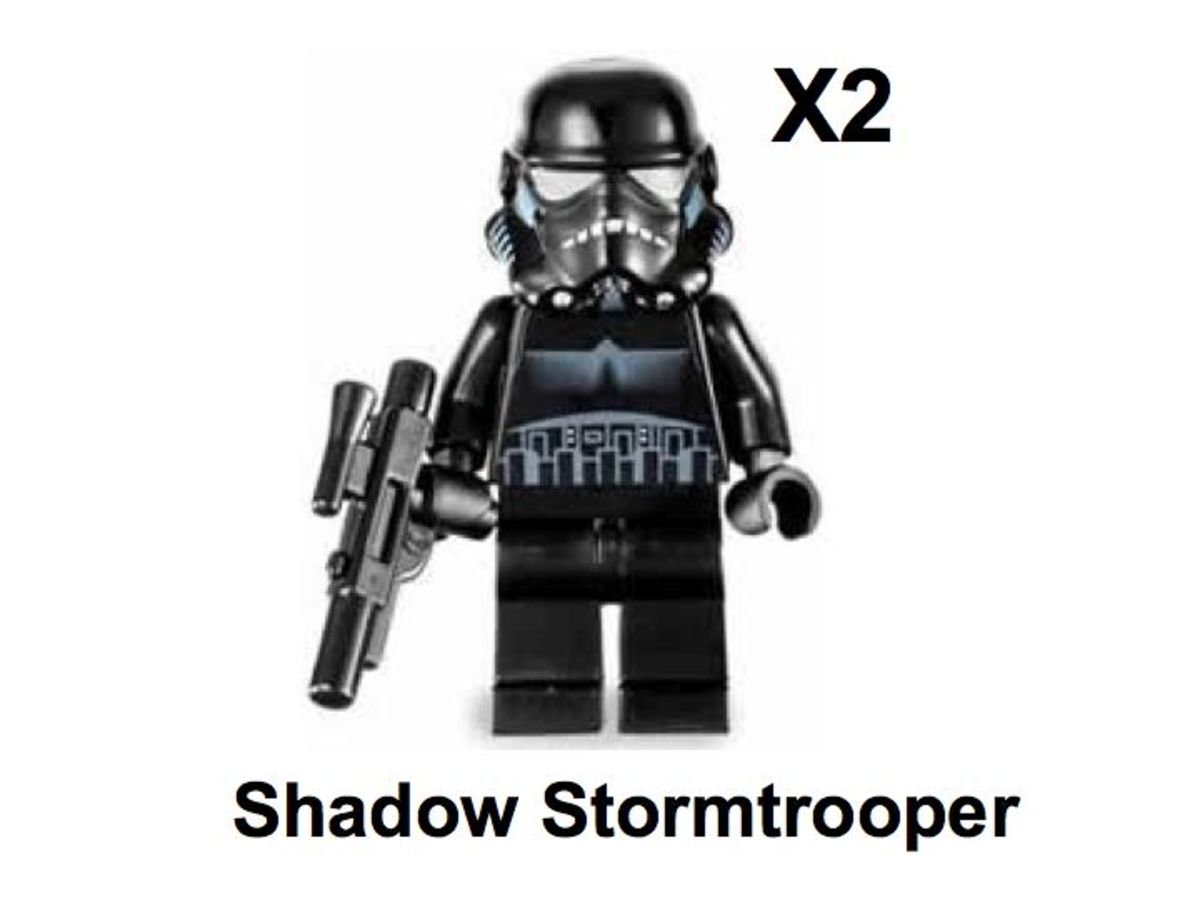 LEGO Star Wars TIE Crawler 7664 Shadow Stormtrooper