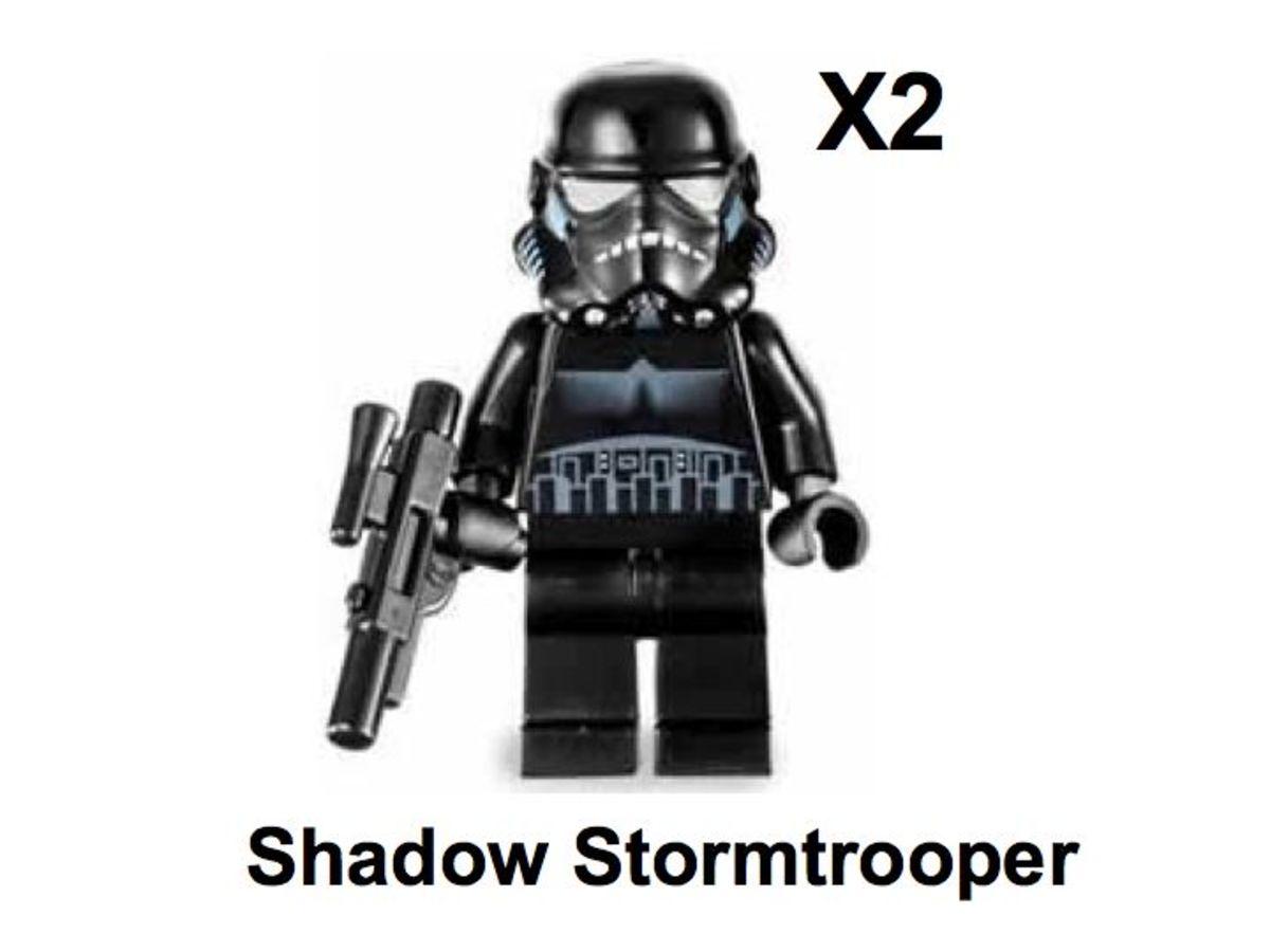LEGO Star Wars TIE Crawler 7664 Shadow Stormtrooper