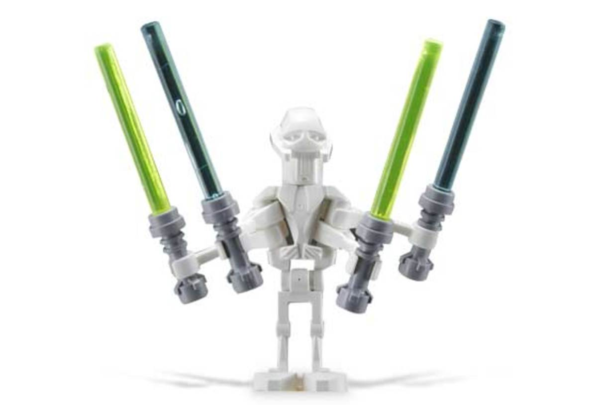 LEGO Star Wars General Grievous Starfighter 7656 General Grievous Minifigure