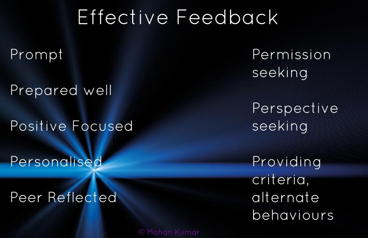 Effective Feedback © Mohan Kumar
