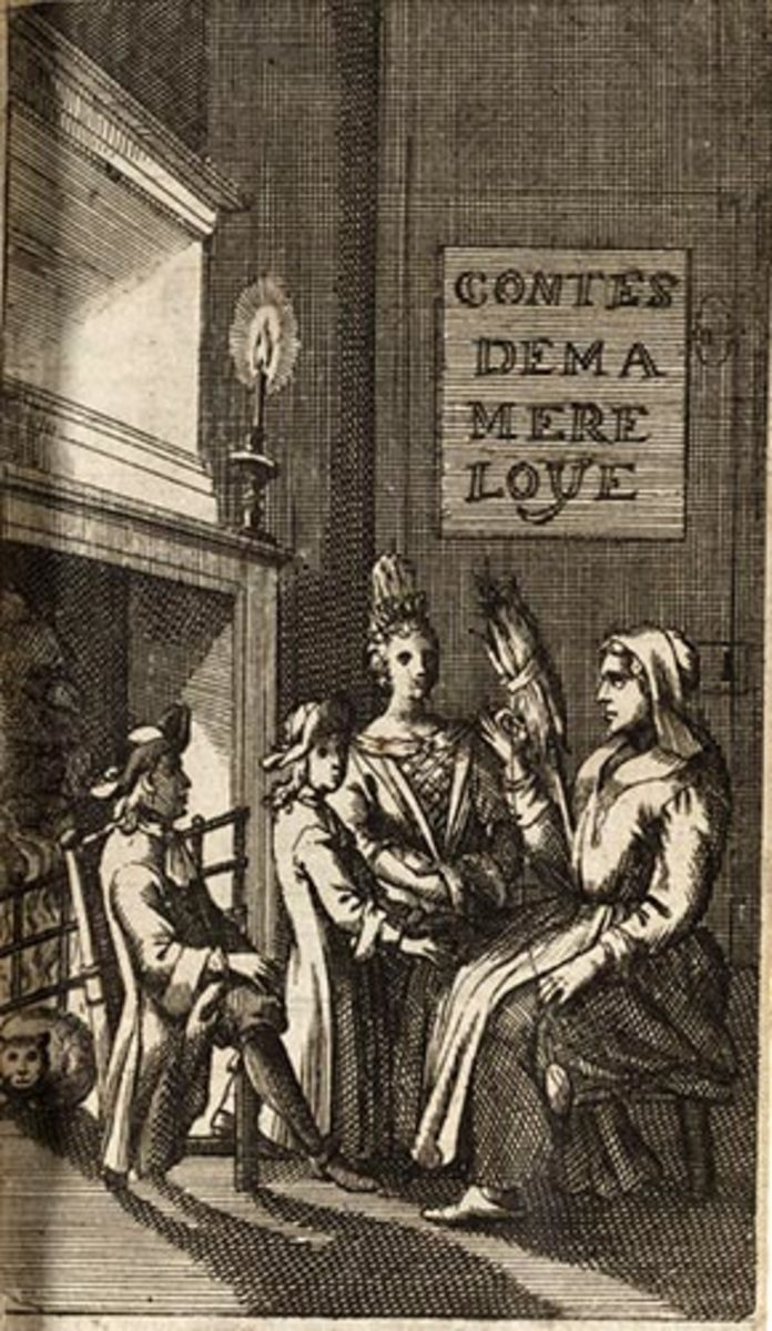 """Contes de ma Mère l'Oye,"" or ""Tales of My Mother Goose."" by Charles Perrault c.1697"