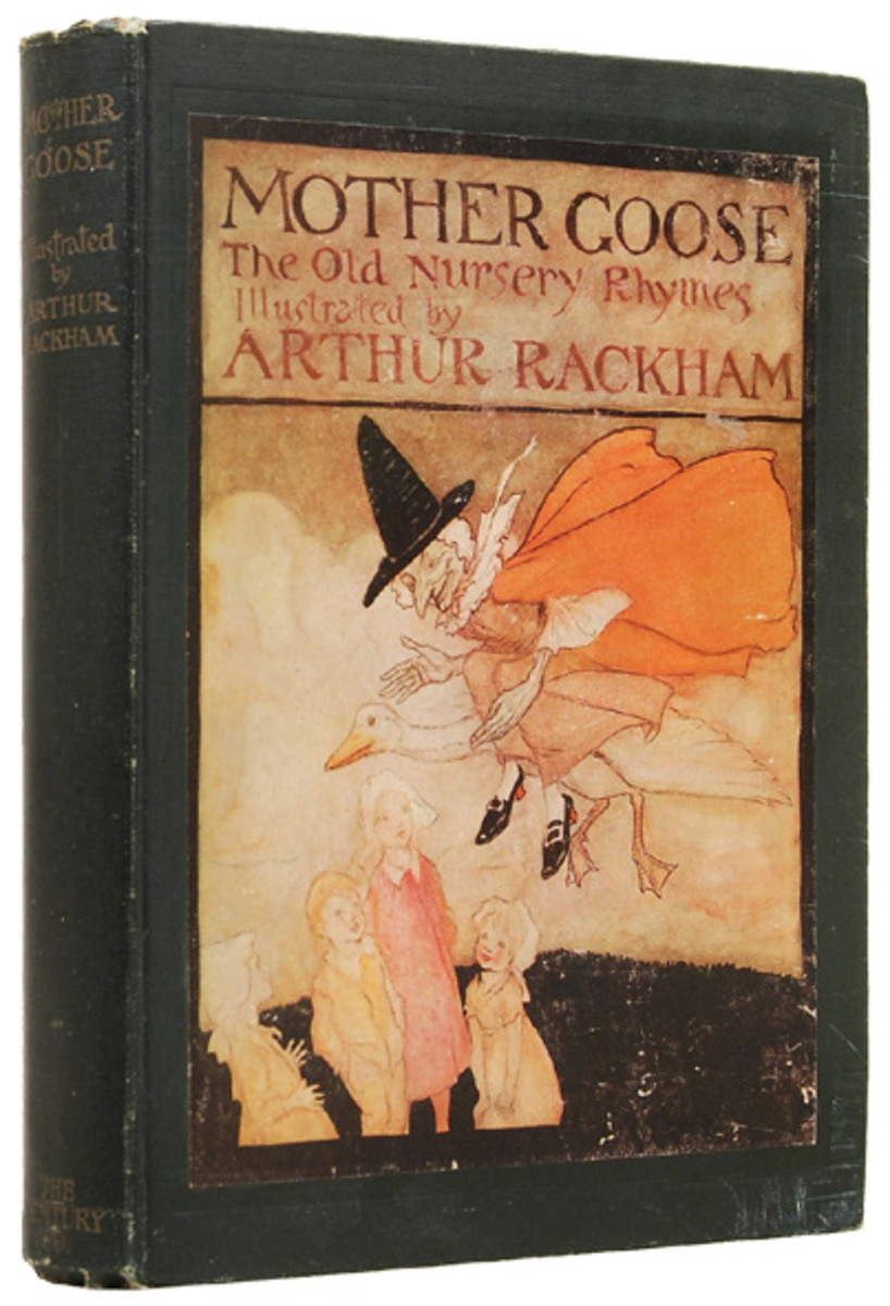 Arthur Rackham's 'Mother Goose'