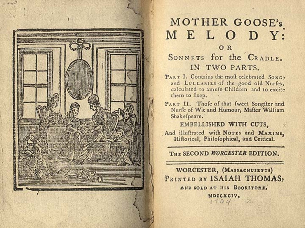 Mother Goose's Melodies - the American Edition