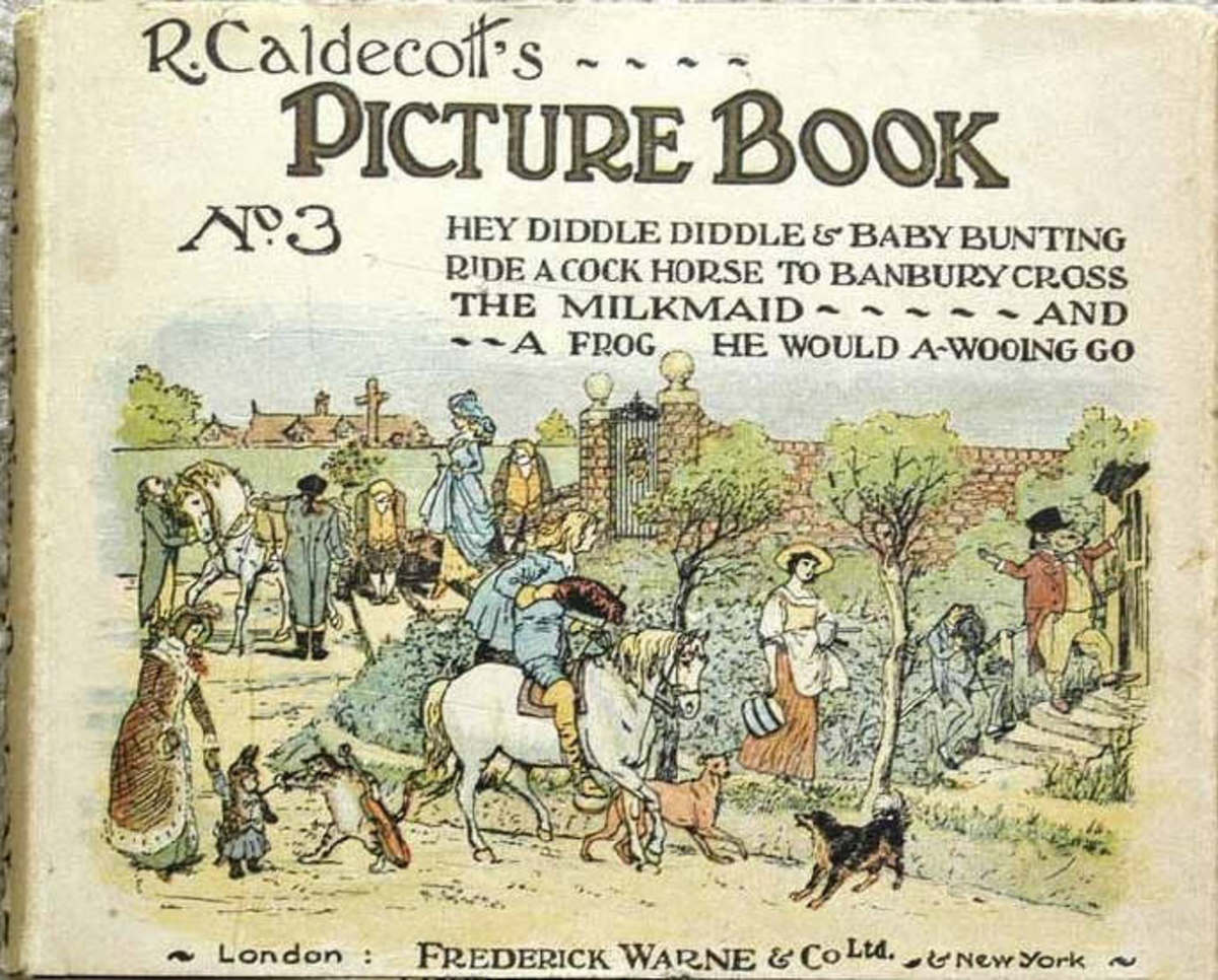 Richard Caldecott's 'Hey diddle diddle picture book'