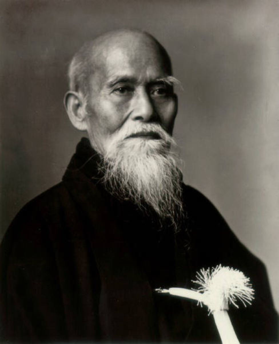 Founder of Aikido.