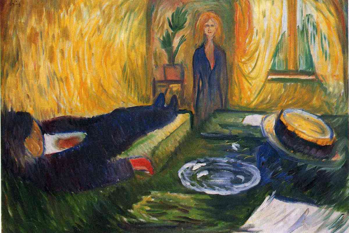 'The Murderess' by Edvard Munch