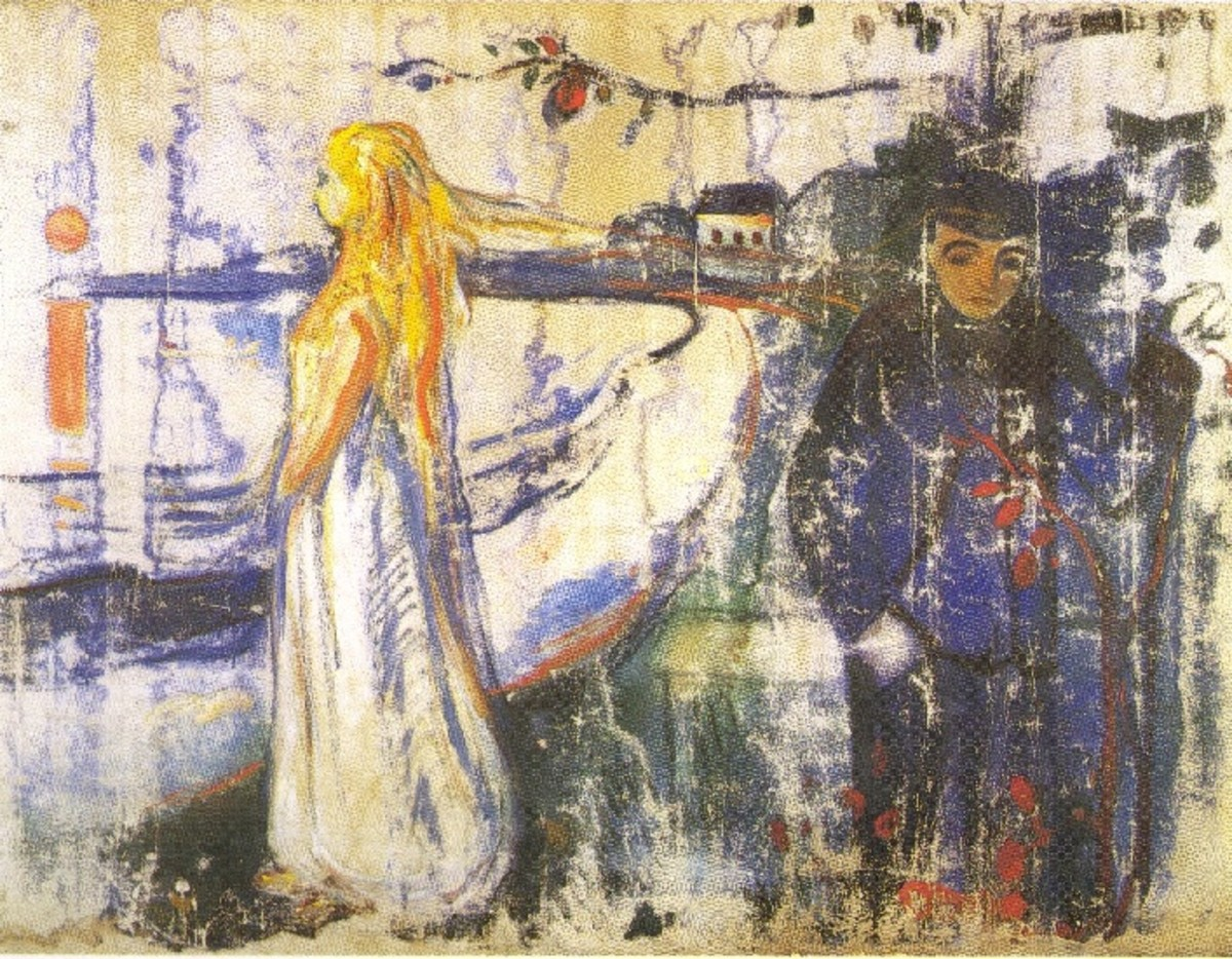 'Separation' by Edvard Munch