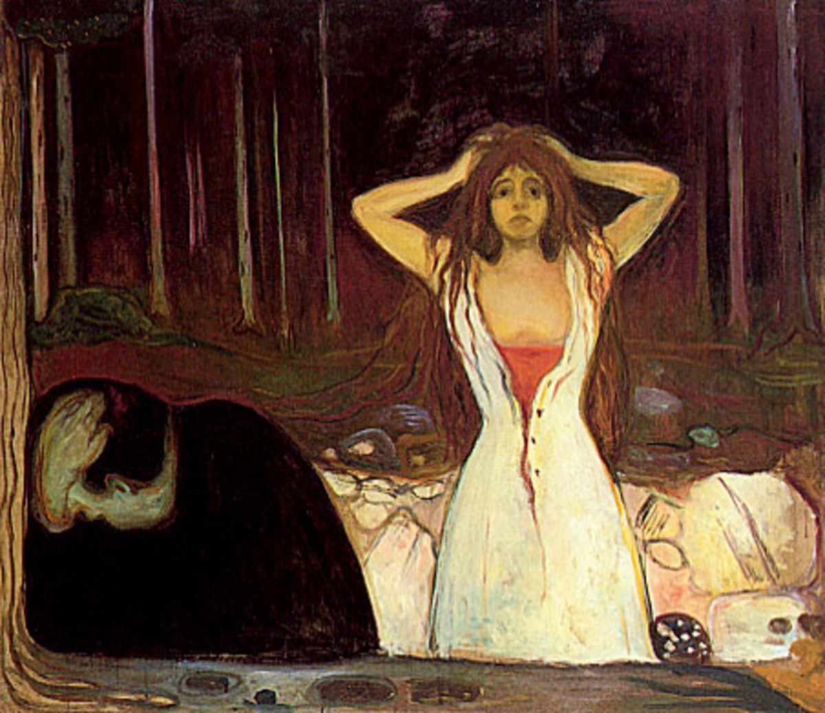 'Ashes' by Edvard Munch