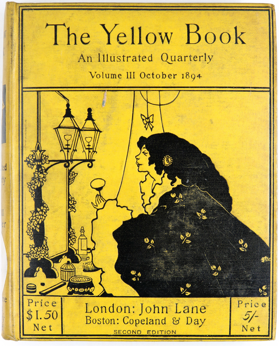 The Yellow Book 27 August 2018 Bibliothèques de Nancy [CC BY 2.0 (https://creativecommons.org/licenses/by/2.0)], via Wikimedia Commons