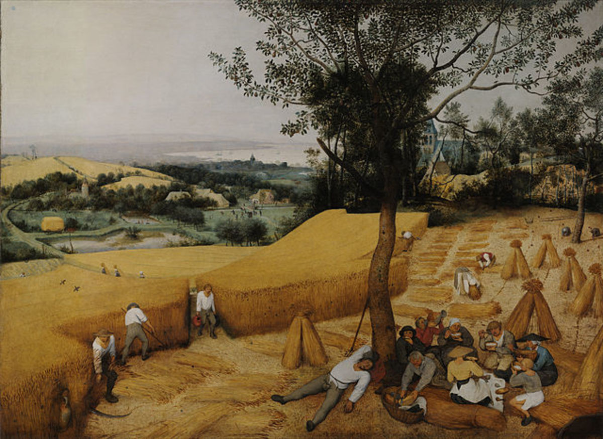 The Harvesters Pieter Brueghel the Elder 1565 [Public domain]
