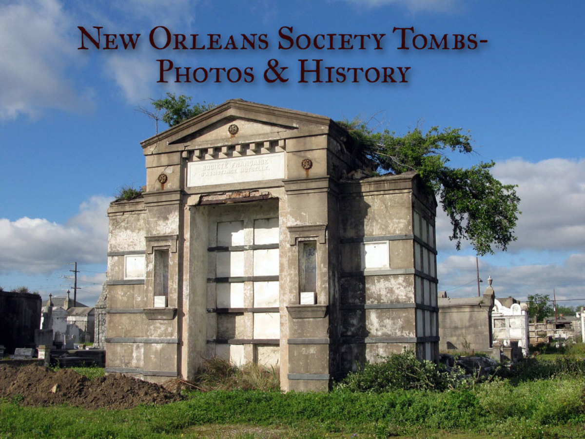 Unique New Orleans Burial Customs- Society Tombs