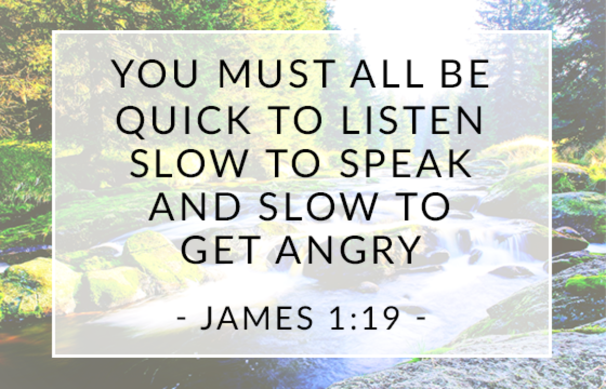 Listen and Be Slow to Speak