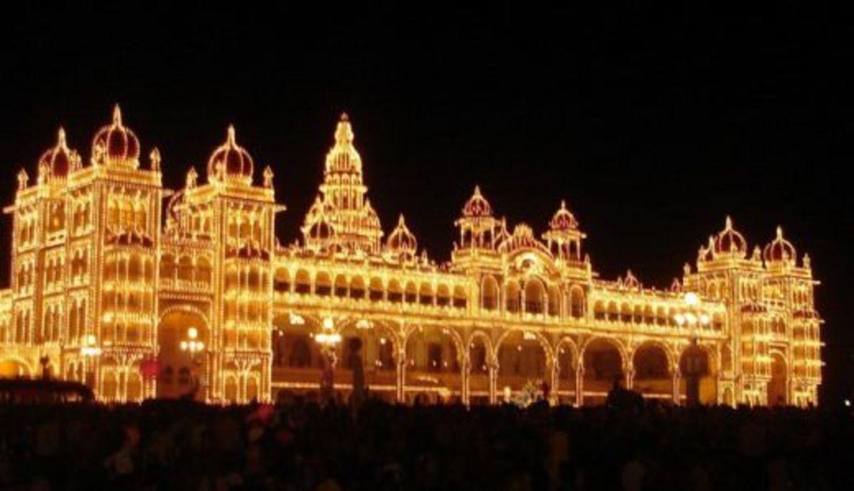 Dasara celebration in mysore palace