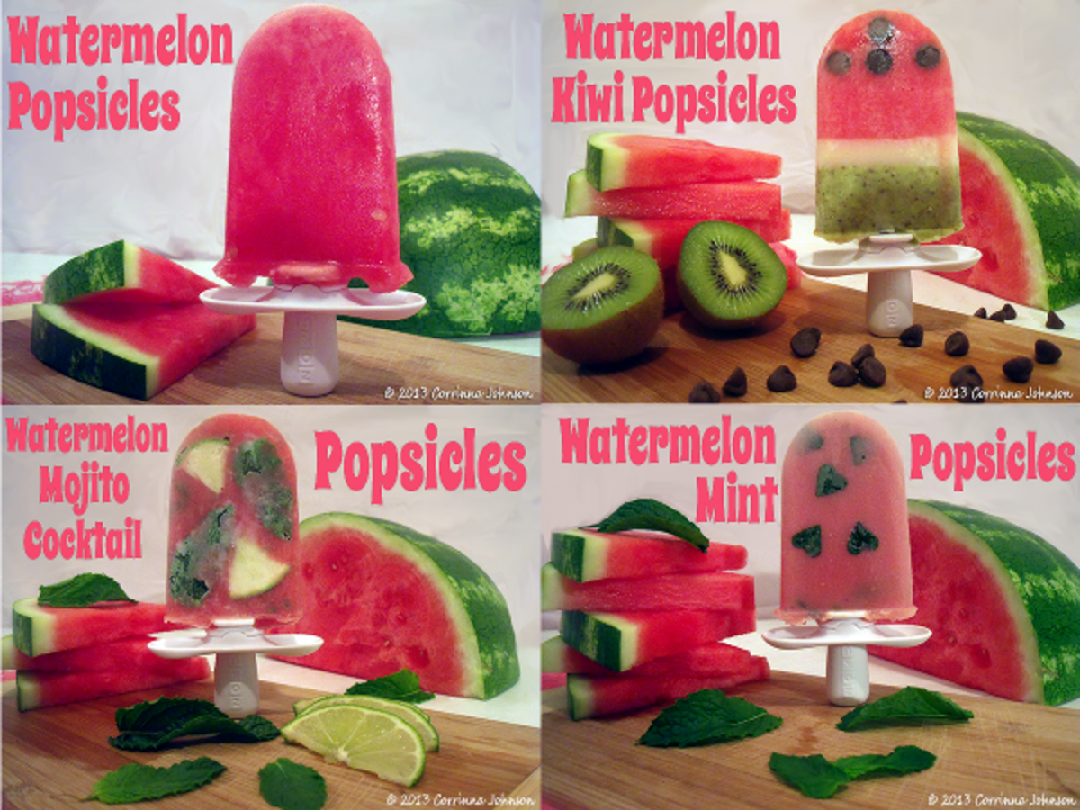 Watermelon Popsicle Recipes