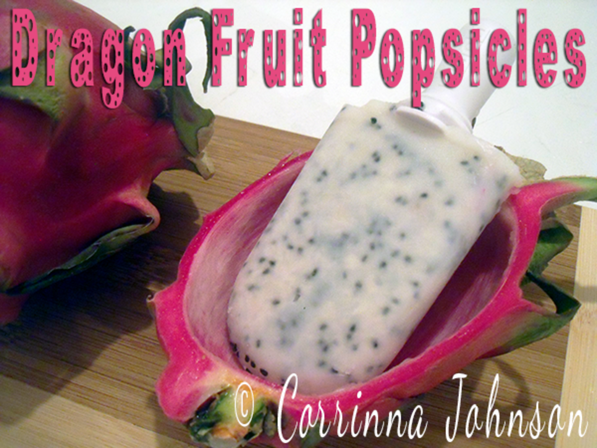 Dragon Fruit Popsicle Recipe