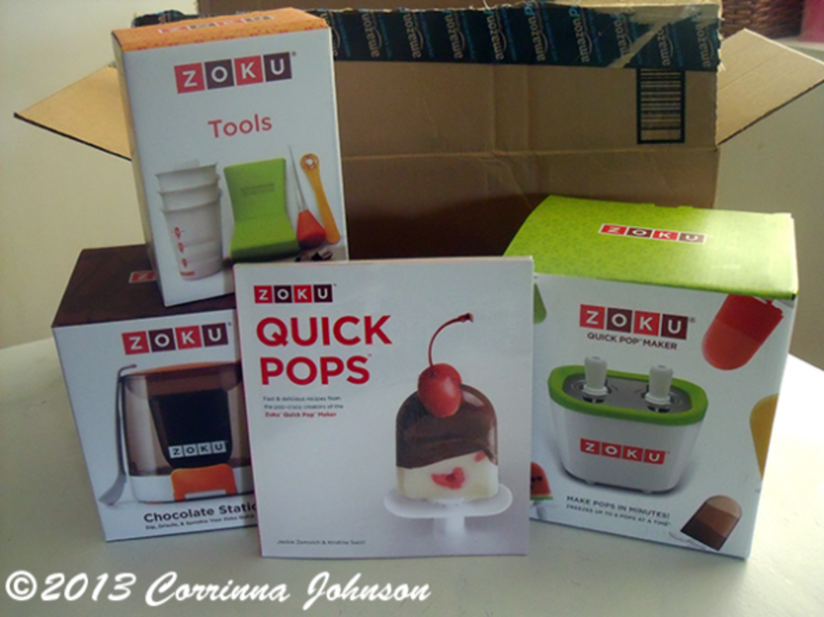 My Zoku Quick Pop Maker Arrived In The Mail From Amazon © 2013 Corrinna Johnson, All Rights Reserved.