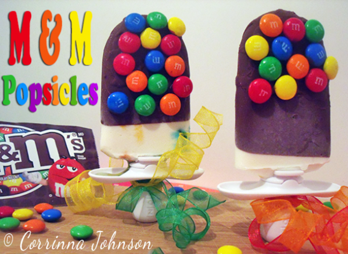 Melt In Your Mouth M & M Popsicle Recipe
