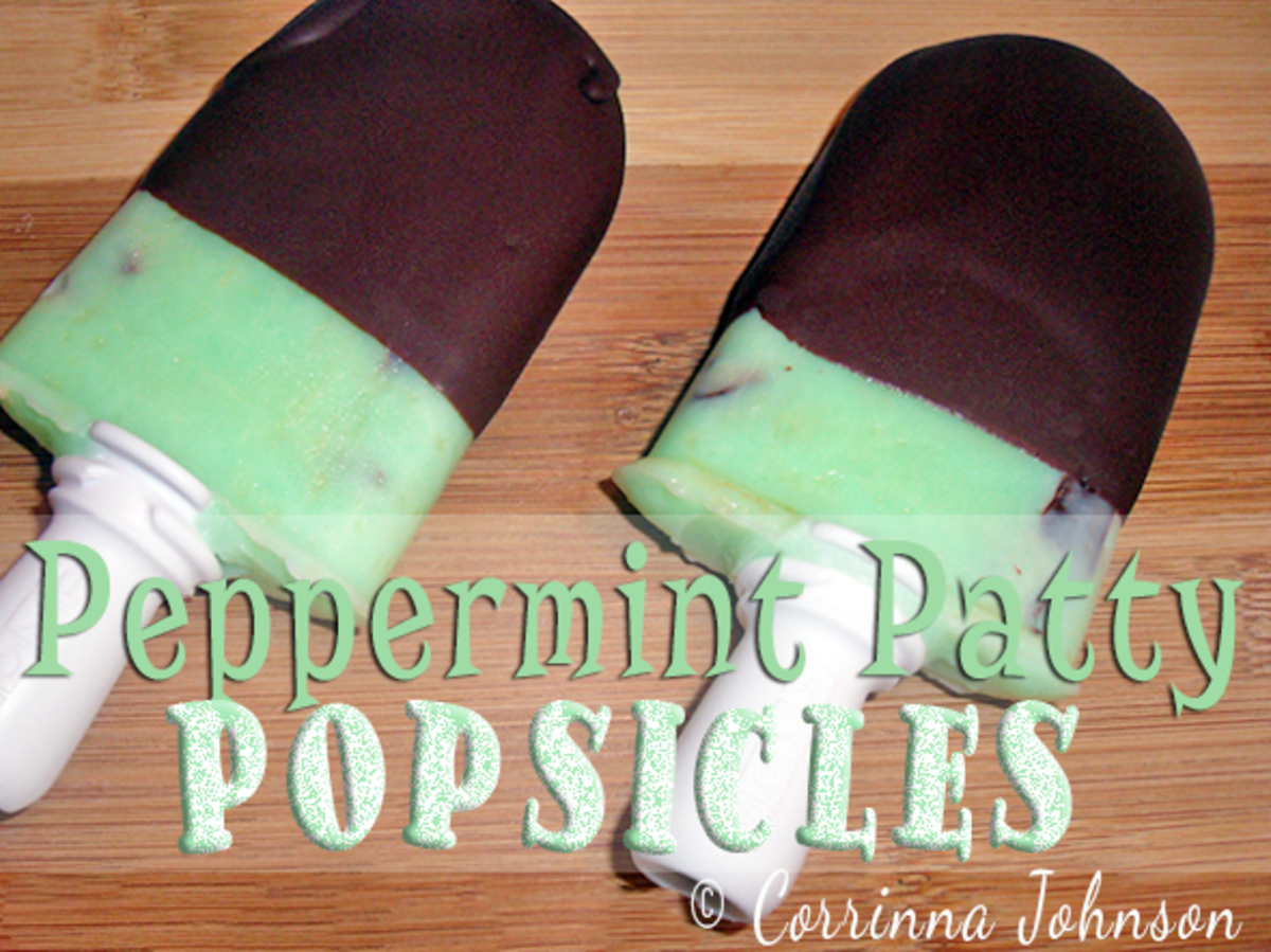Chocolate Peppermint Patty Popsicle Recipe
