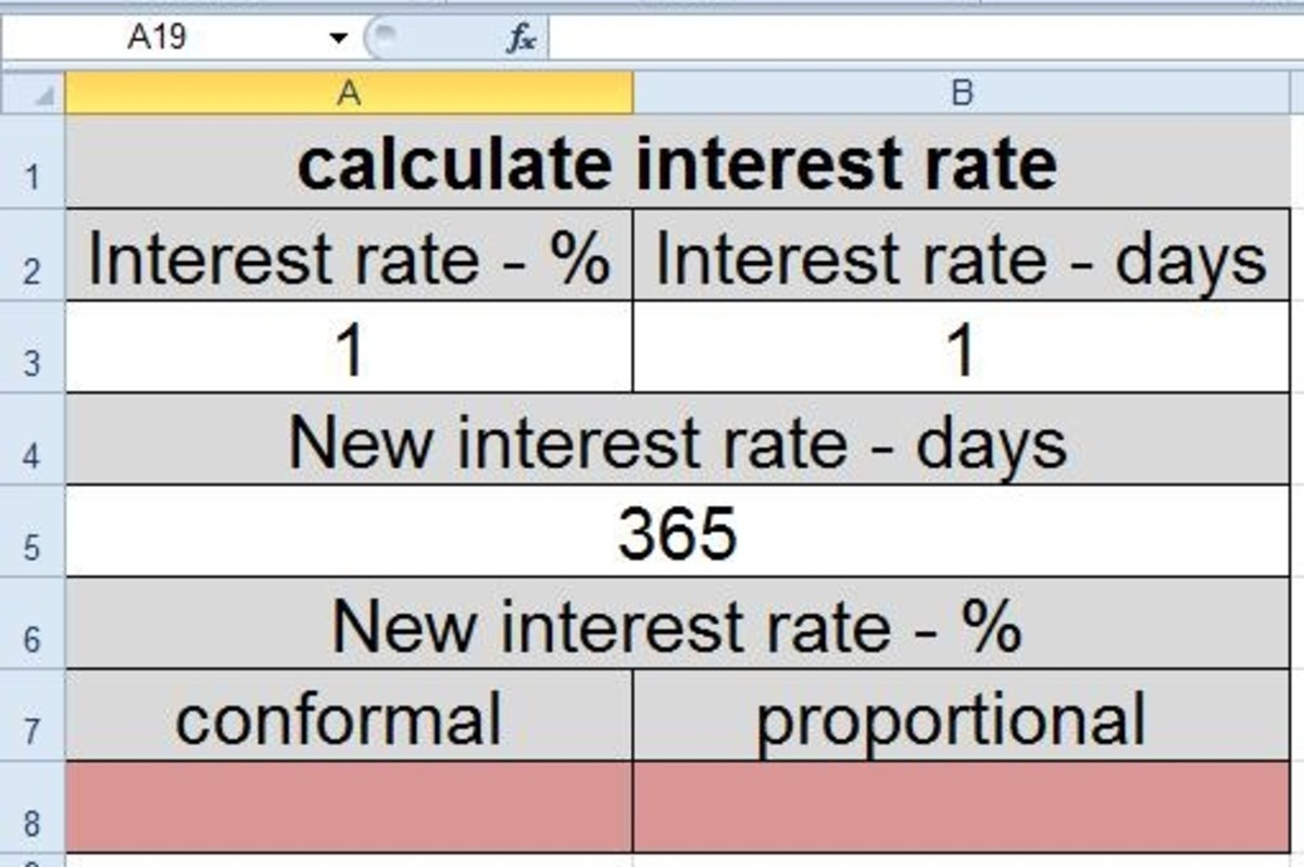 How to Convert Interest Rate