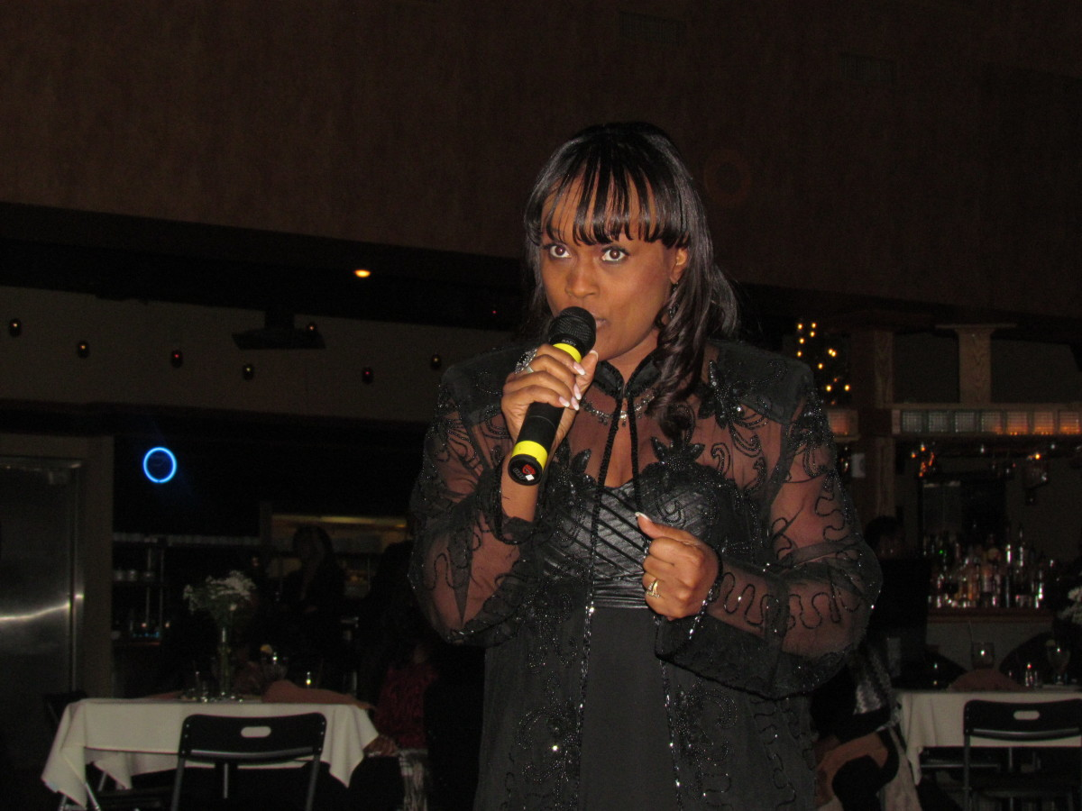 Rick's very talented wife, Sheila Coley also performed during this elegant evening.