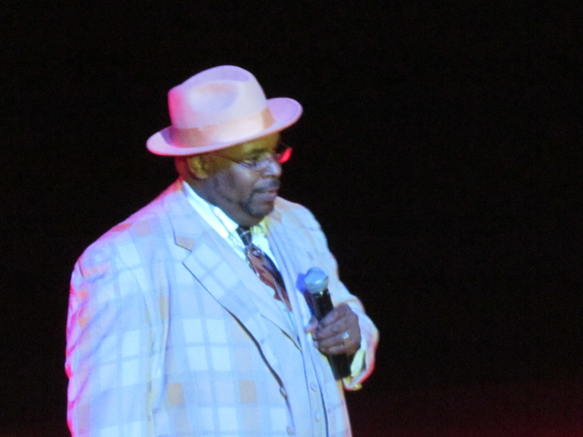 "Keith ""Rock"" Shell, served as host for the evening during this black tie affair."