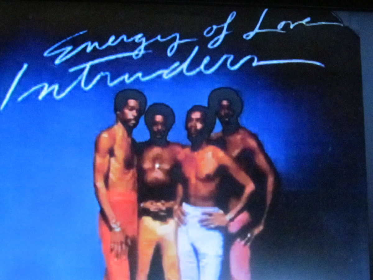 "Album cover for ""Energy of Love"" which was released in 1974 by ""The intruders."""