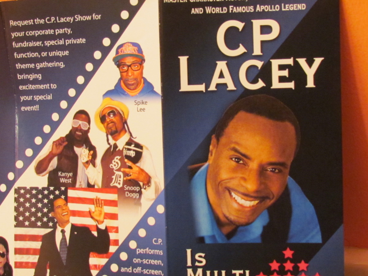 Master character actor, celebrity tribute artist and world famous Apollo Legend CP Lacey, performed his Michael Jackson character which is always histerical.