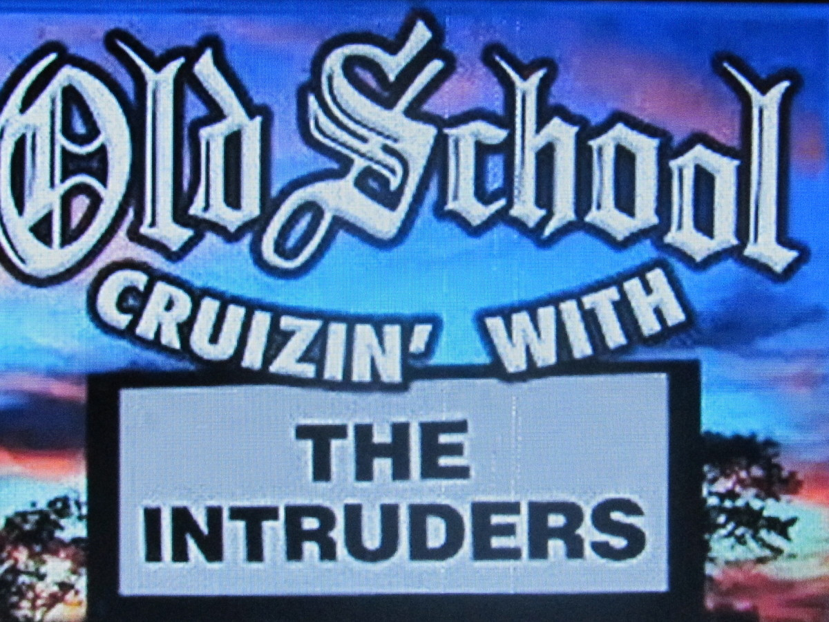 "Old School Cruzin with ""The Intruders."""
